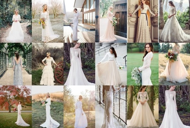 fall wedding dresses with sleeves