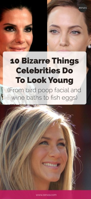 10 Bizarre Things Celebrities Do to Look Young