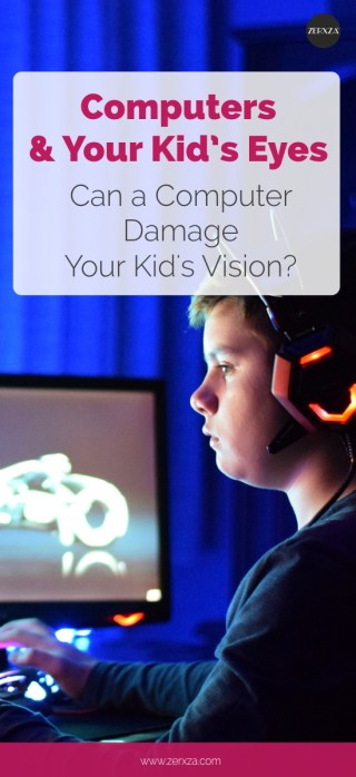 Computer and Your Kid's Vision - Does a Computer Harm Your Child's Vision