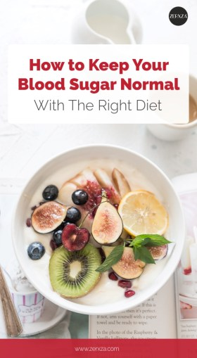 How to Keep Your Blood Sugar With Your Diet - Nutrition Tips