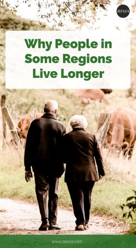 Reasons Why People in Some Regions Live Longer
