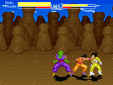 Dragonball Z Butoden Mugen screenpack fight