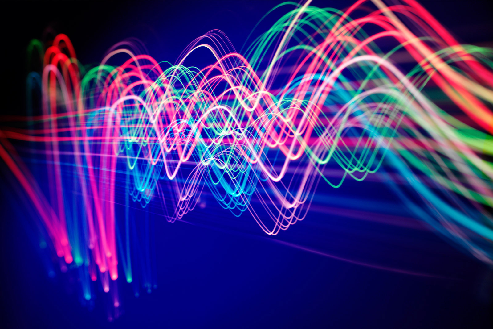 Zest4 Connectivity image depicted by light trails.