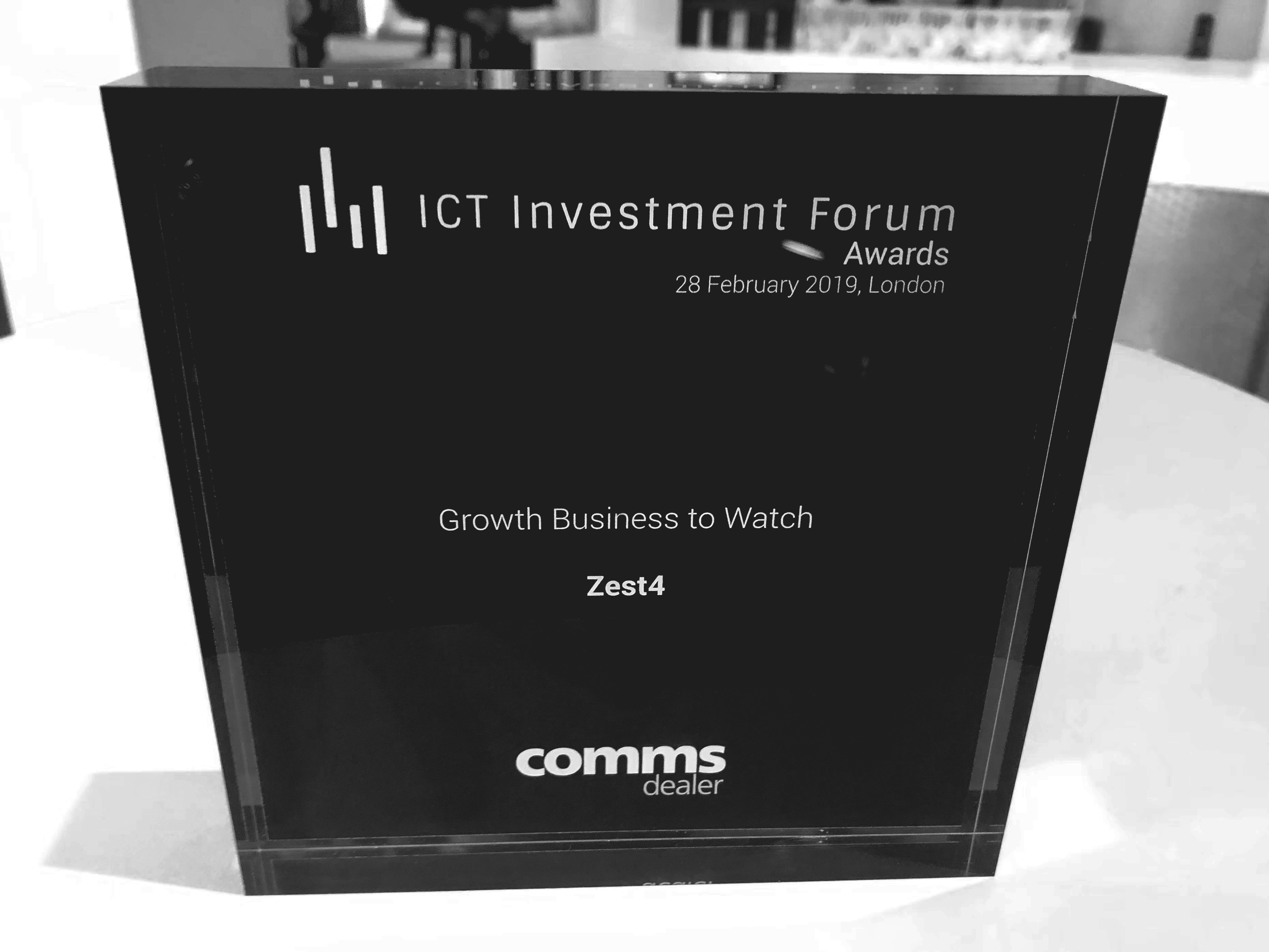 Zest4 ICT Investment Forum London 2019