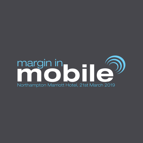 Margin in Mobile Logo