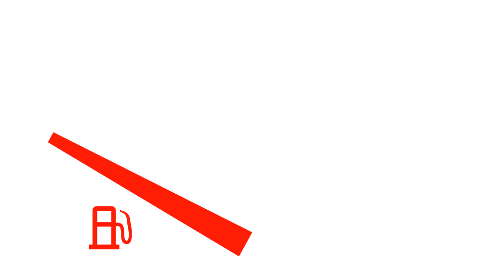 Vehicle fuel guage vector art
