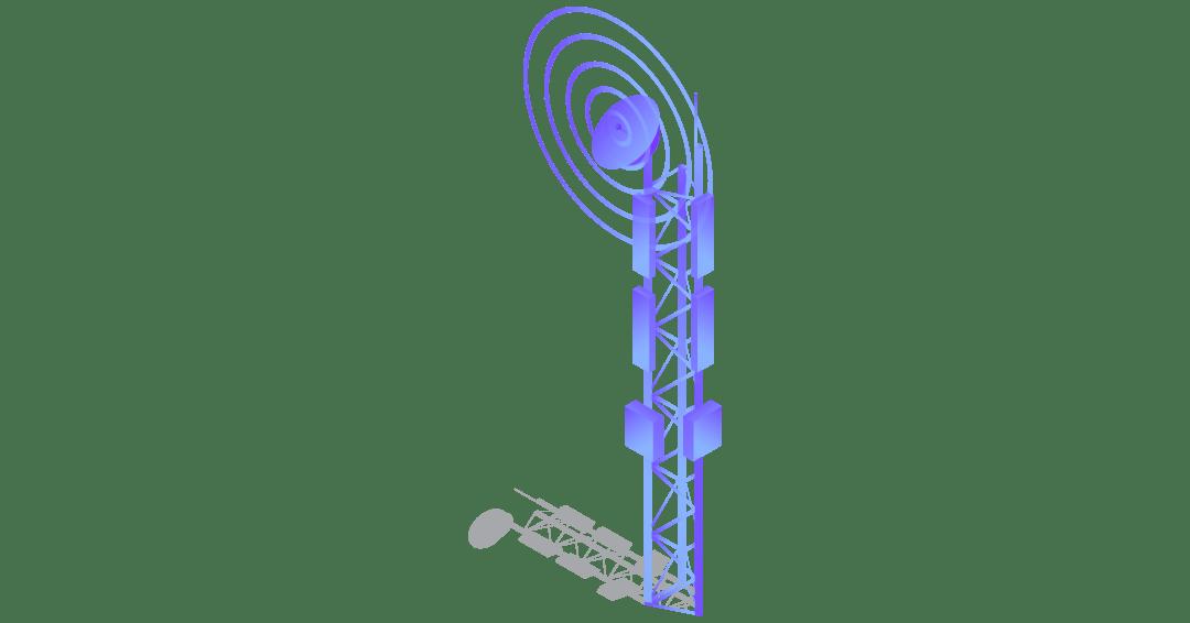Zest4 Service Status - mobile phone mast vector art