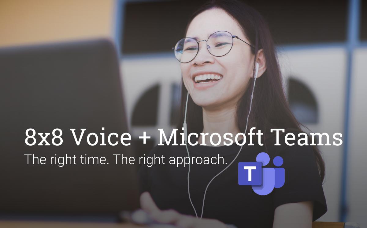 8x8 Microsoft Teams