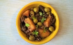 Beef and swede tagine