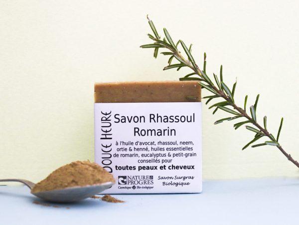 Savon Rhassoul-Romarin