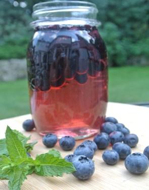 Blueberry Shrub