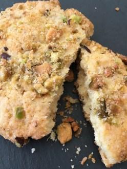 Pistachio Lemon Cookies