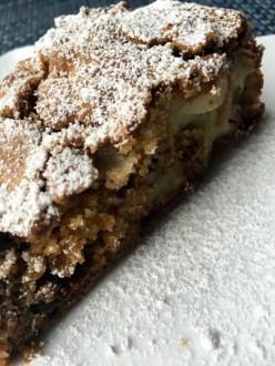 Slice of Apple Spice Cake