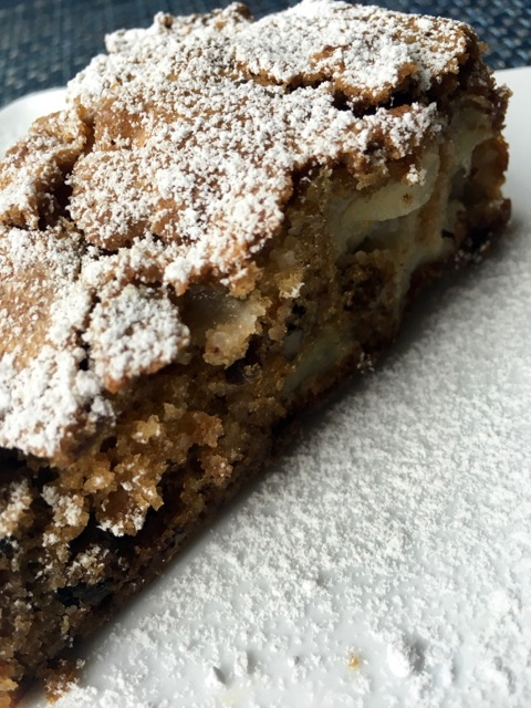 Slice of Apple Spice Cake