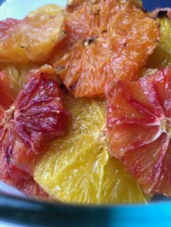 caramelized citrus