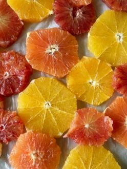 caramelized citrus slices