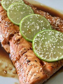 Bourbon Salmon - 1