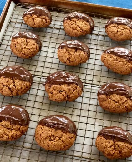 GF Oatmeal Cookies