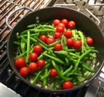 Sauteed Green Beans w/Tomatoes