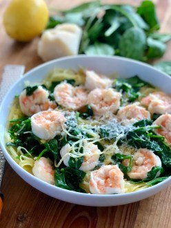 Shrimp and Lemon Pasta