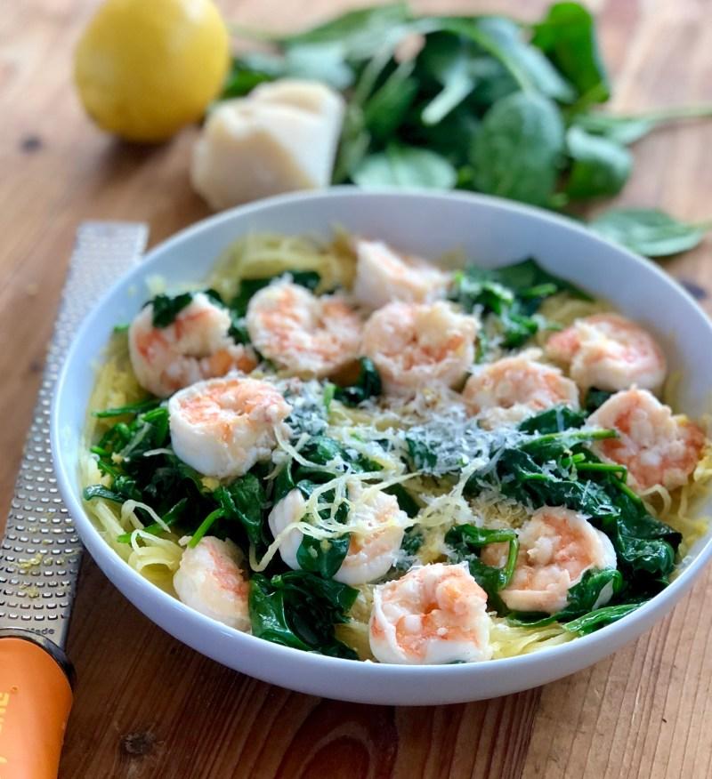 Shrimp and Lemon Pasta