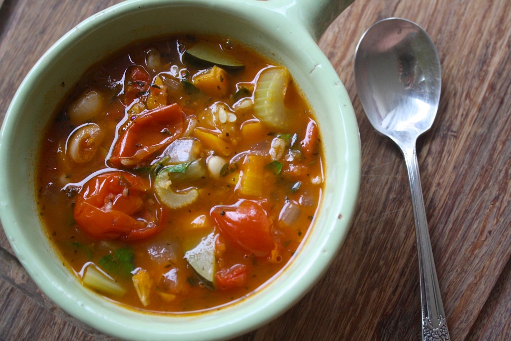 Chunk Vegetable Soup | Zestful Kitchen
