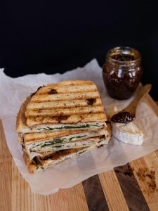 Turkey and Fig Panini | Zestful Kitchen