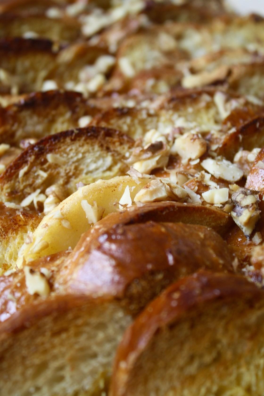 Baked Apple French Toast | Zestful Kitchen