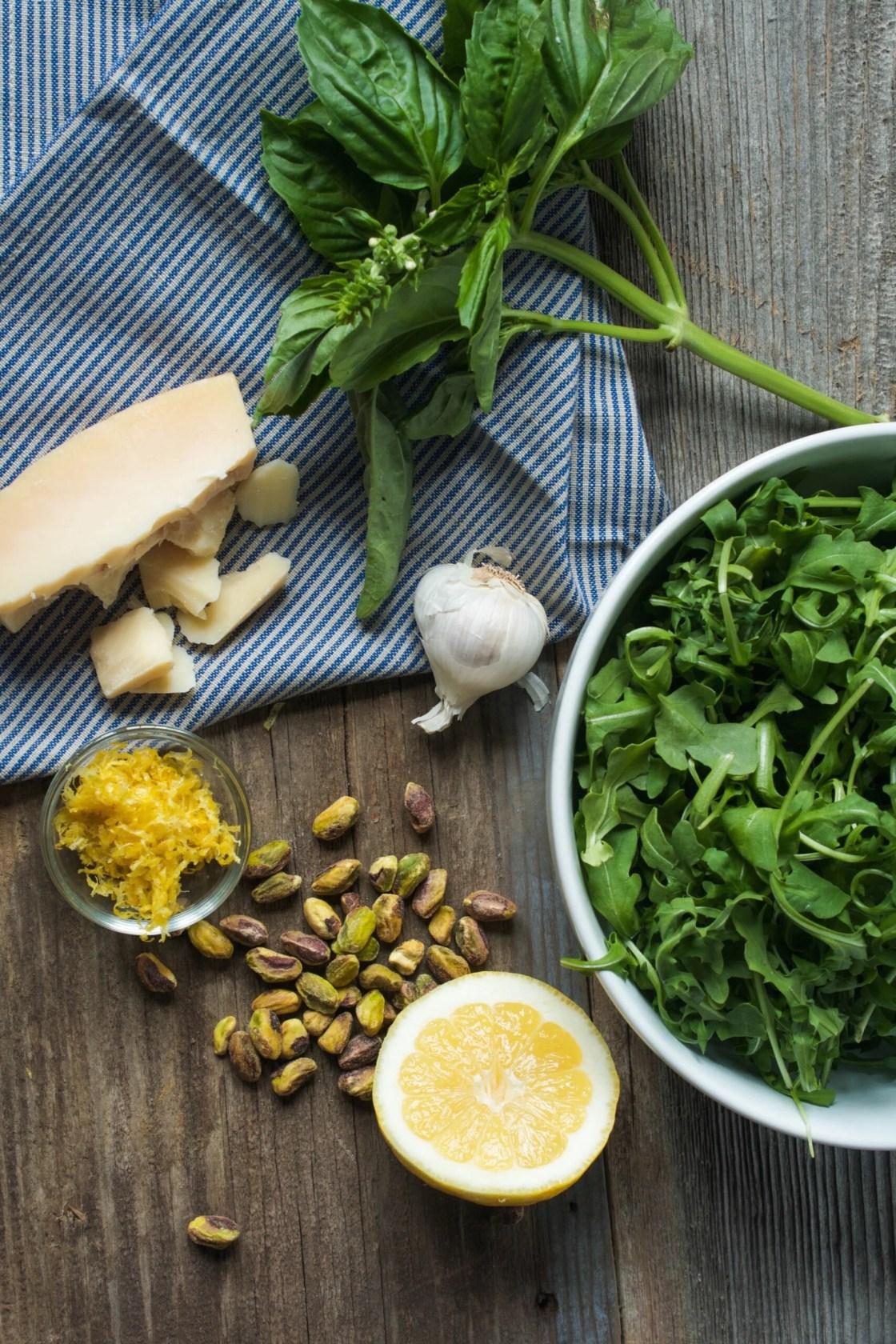 Pistachio & Arugula Basil Pesto + 4 Ways to Use Pesto