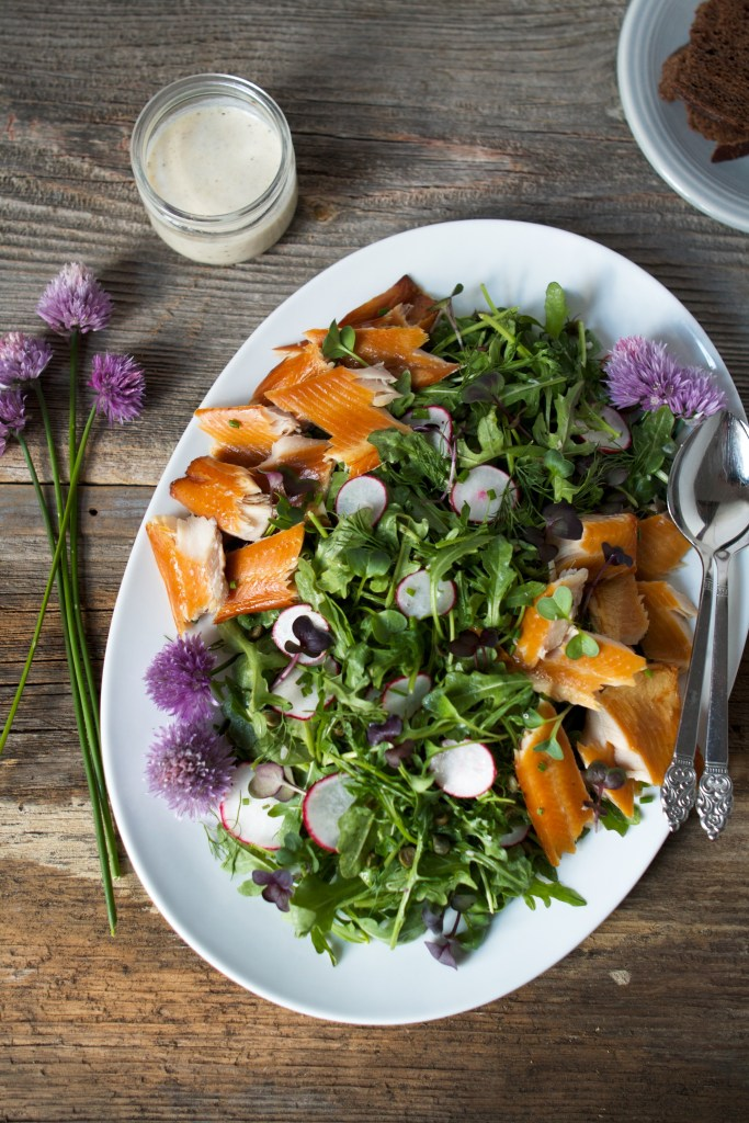 Smoked Trout Salad   Zestful Kitchen