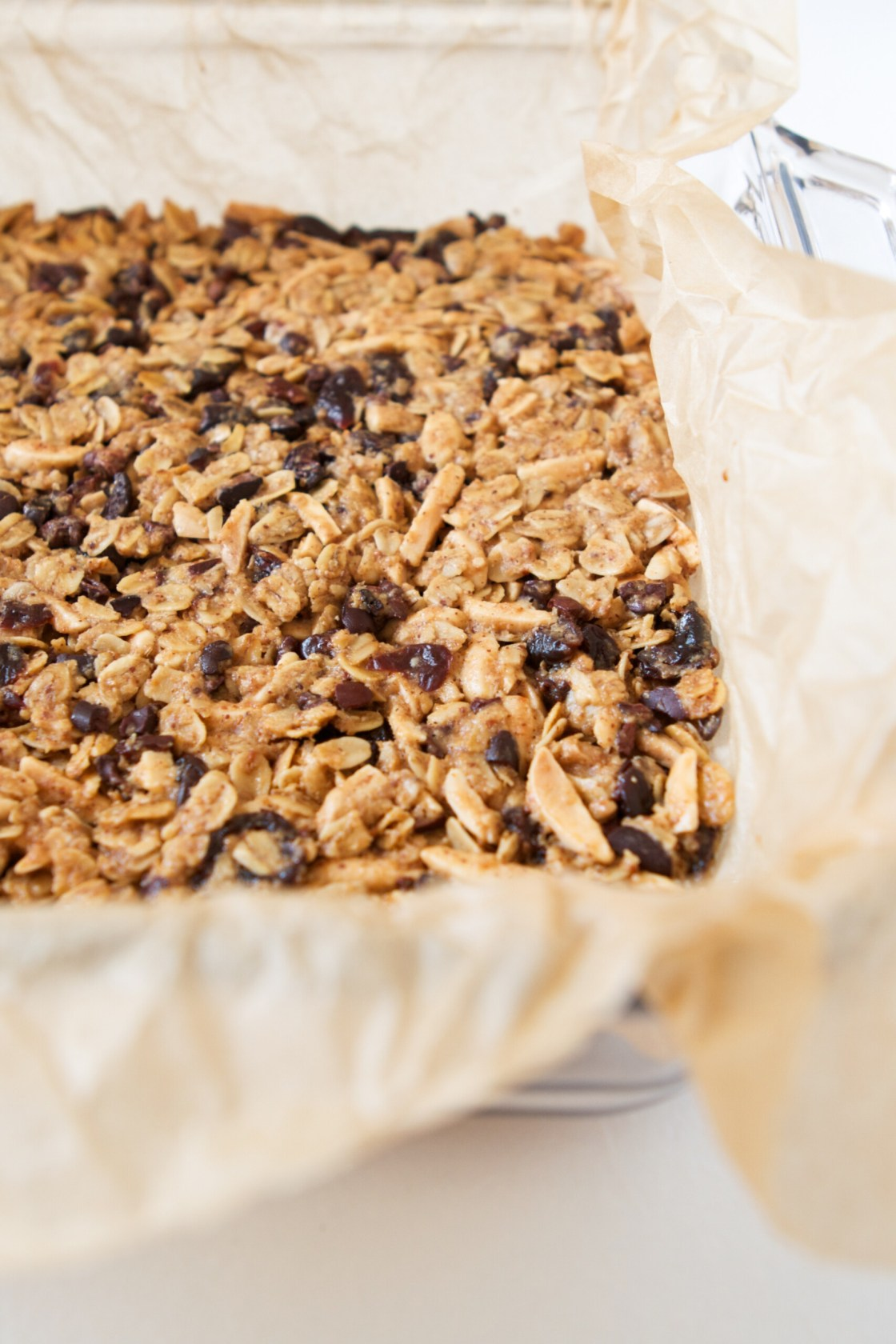 Cherry & Almond Granola Bites with Cocoa Nibs | Zestful Kitchen