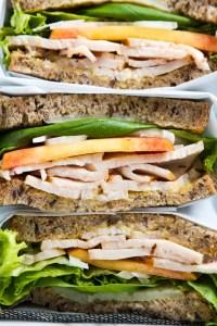 Turkey, Peach & Basil Sandwich   Zestful Kitchen