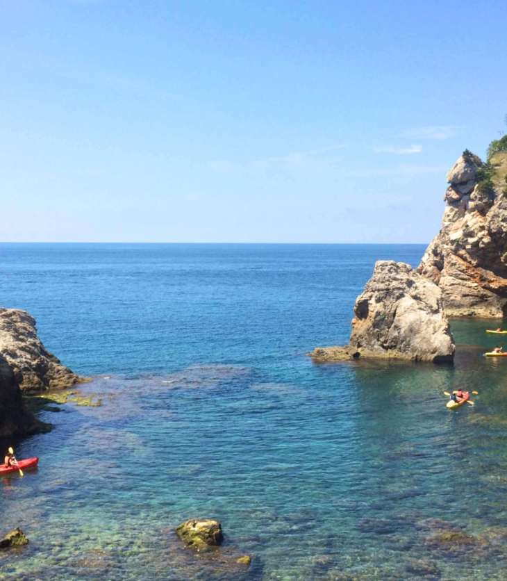 Kayaking in the Adriatic Sea, Dubrovnik