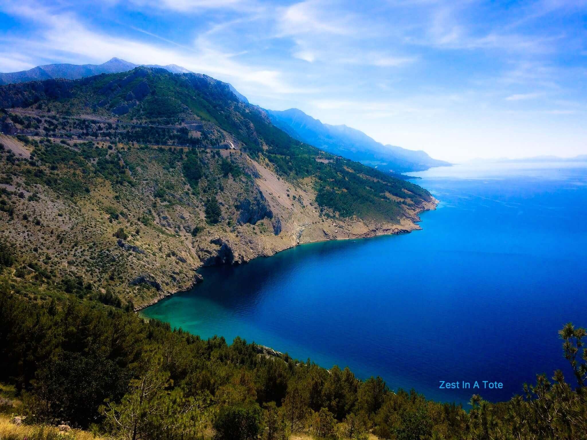 Panoramic views, Makarska Riviera