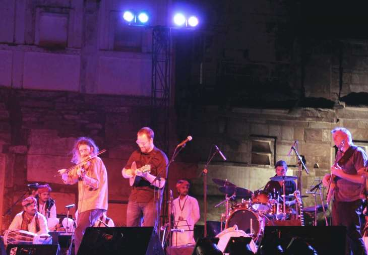 Jodhpur music festival, evening performance
