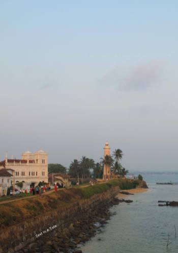 Walk the ramparts of the old fort at Galle before sunset.