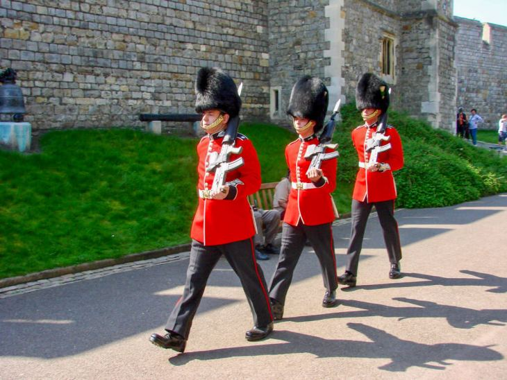Members of the Royal Household Troops