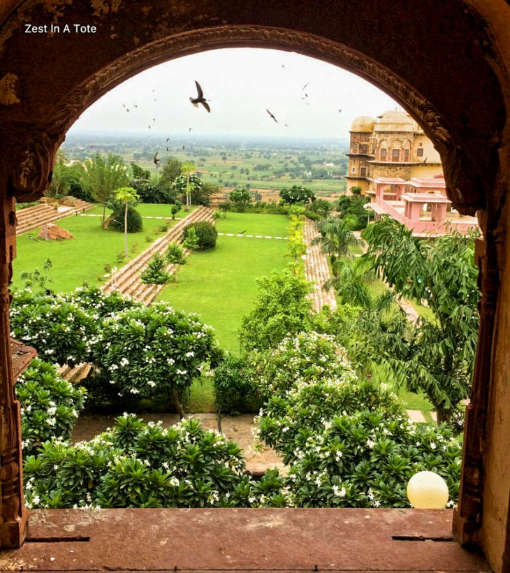 Tijara-garden-view