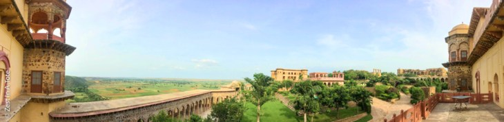 Tijara-panorama-from-Rani-mahal