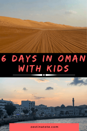 This 6-day Oman itinerary has adventure galore, and exposes you to a mix of mountains and wadis, a vast desert, beaches and city activities. #oman #omanitinerary #muscat #wahibasands #wadibanikhalid #nizwa #jebelakhdar #sur