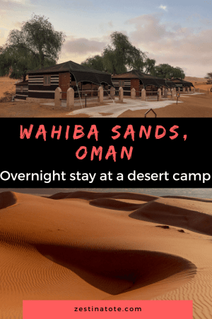Overnight stay to experience Wahiba Sands, the largest desert region in Oman is recommended in any itinerary. #oman #wahibasands #desertcamp #familytrip #adventuretrip