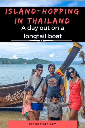 Hiring a local longtail boat and being out on the open ocean, hopping from one island to another, having local food is a perfect day in Thailand. #thailand #khainokisland #phuket #longtail #rangyaiisland #islandhopping