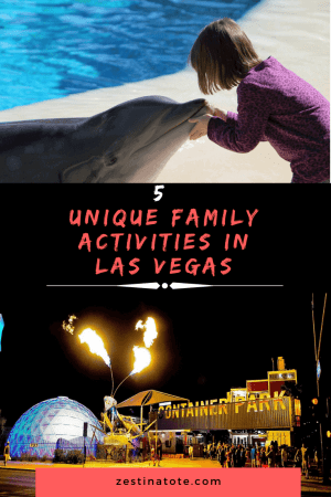 There are all sorts of fun activities in Las Vegas for all ages. Read on for 5 of the most unique activities in Vegas for the entire family. #lasvegaswithkids #vegasforfamilies #uniqueactivitieslasvegas