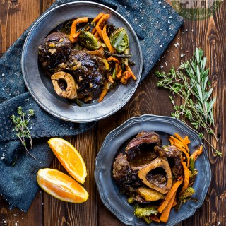 Beef Shanks with Orange and Thyme (Grass Fed, Paleo, AIP)