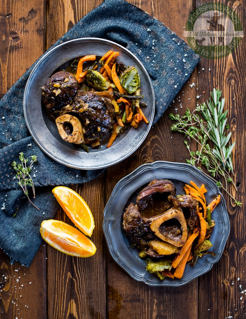 Beef Shanks with Orange and Thyme (Grass Fed, AIP) - Zesty Paleo