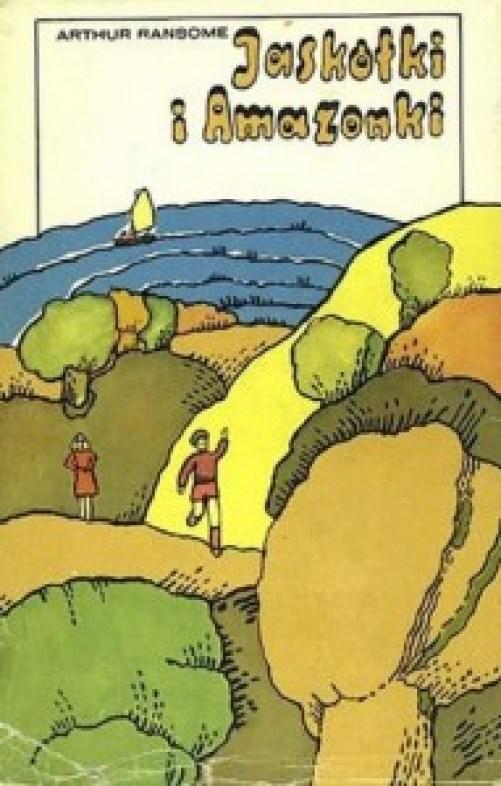 Jaskółki i Amazonki_książka
