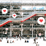 Valentine's Day Crush: shair is in love with Centre Pompidou