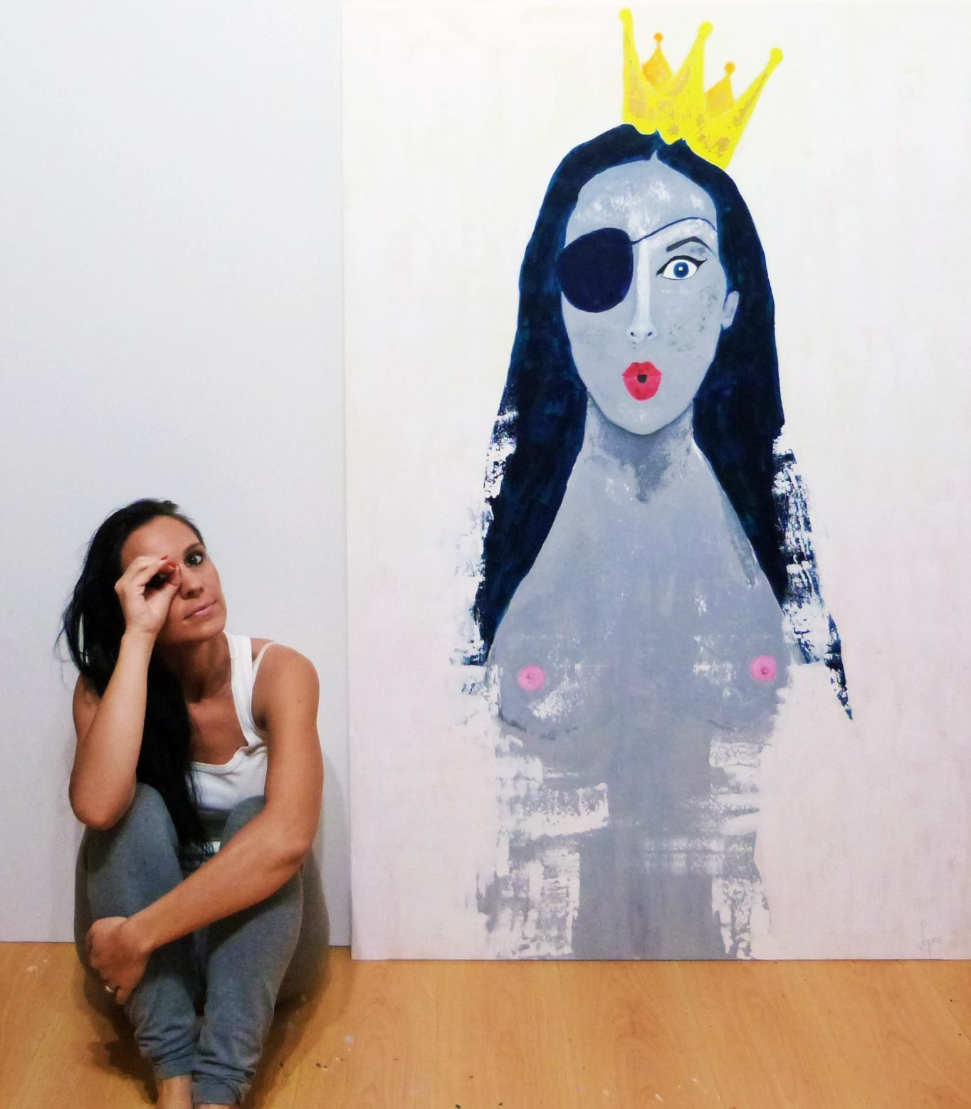 The artist, the spectator and the female nude, by Joana Lopes