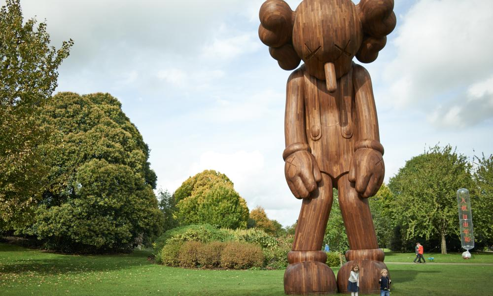 'KAWS' at Yorkshire Sculpture Park