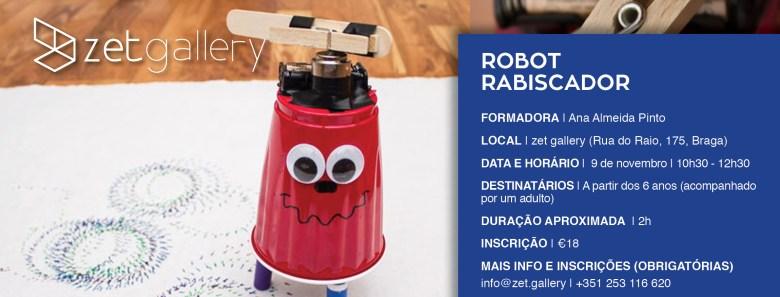 Robot Rabiscador